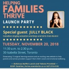 Poster of Helping Families Thrive Launch Party featuring Jully Black